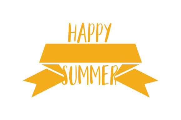 Download Free Happy First Day Of Summer Quote Svg Cut Graphic By Thelucky Creative Fabrica for Cricut Explore, Silhouette and other cutting machines.