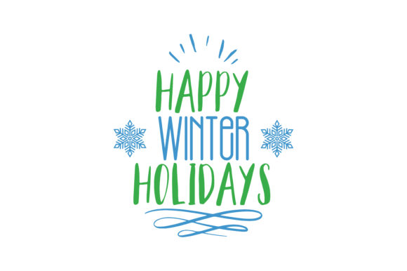 Download Free Happy Holidays Quote Svg Cut Graphic By Thelucky Creative Fabrica for Cricut Explore, Silhouette and other cutting machines.
