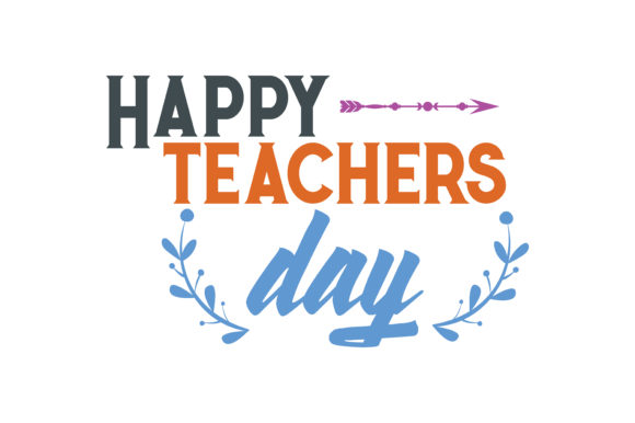 happy teachers day quote svg cut grafico por thelucky · creative