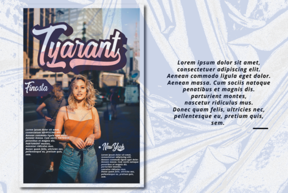 Print on Demand: Harpert Script & Handwritten Font By Ijem RockArt - Image 9