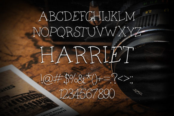 Print on Demand: Harriet Script & Handwritten Font By Eldamar Studio Fonts - Image 2