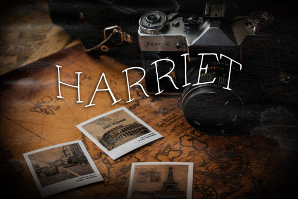 Print on Demand: Harriet Script & Handwritten Font By Eldamar Studio Fonts - Image 1