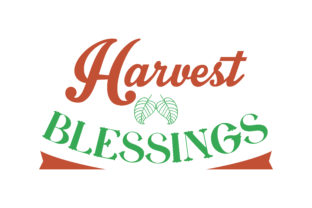 Download Free Harvest Blessings Quote Svg Cut Graphic By Thelucky Creative for Cricut Explore, Silhouette and other cutting machines.