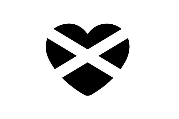 Download Free Heart With Scottish Flag Svg Cut File By Creative Fabrica Crafts for Cricut Explore, Silhouette and other cutting machines.