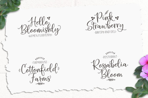 Print on Demand: Hello Blushberry Duo Script & Handwritten Font By Great Studio - Image 2