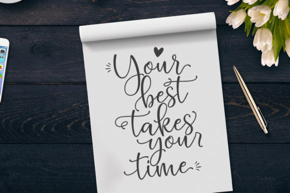Print on Demand: Hello Blushberry Duo Script & Handwritten Font By Great Studio - Image 5