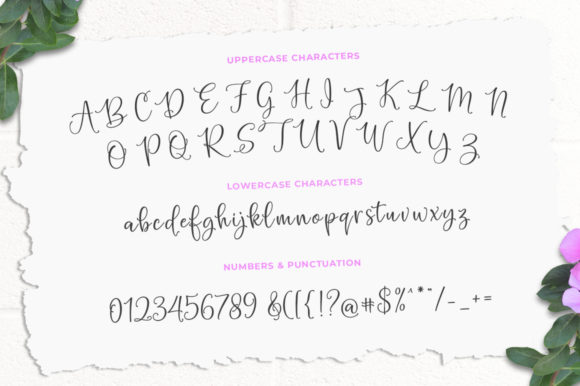 Print on Demand: Hello Blushberry Duo Script & Handwritten Font By Great Studio - Image 9