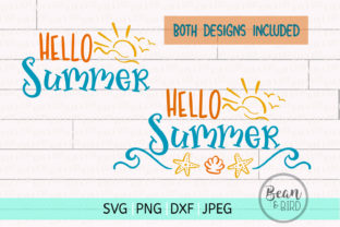 Hello Summer Svg Cut File Graphic By Jessica Maike