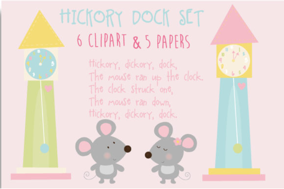 Print on Demand: Hickory Dock Graphic Patterns By poppymoondesign