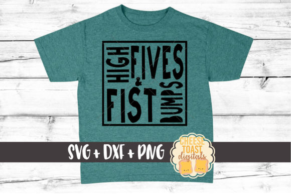 High Fives and Fist Bumps - Boy SVG Graphic Crafts By CheeseToastDigitals
