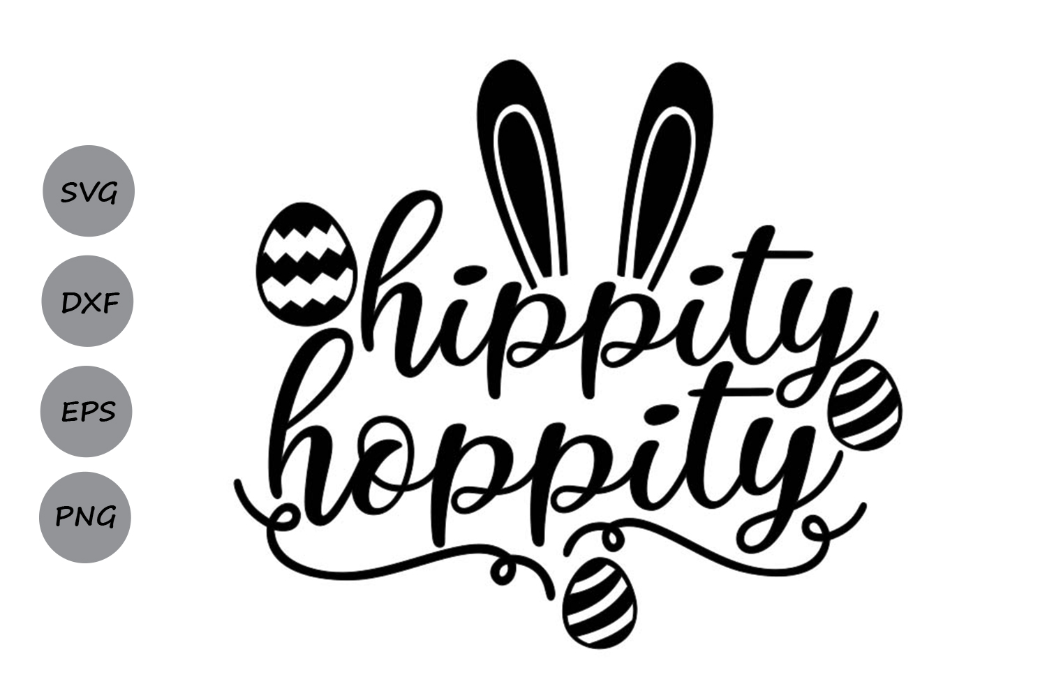 Download Free Hippity Hoppity Graphic By Cosmosfineart Creative Fabrica for Cricut Explore, Silhouette and other cutting machines.