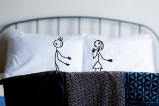 His & Hers Pillow Cases Craft Design By Creative Fabrica Crafts