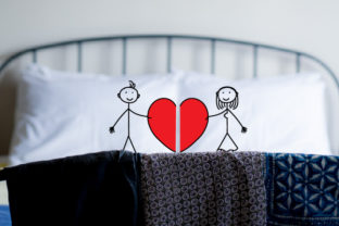 His & Hers Pillow Cases Designs & Drawings Craft Cut File By Creative Fabrica Crafts