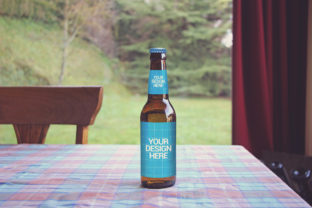 Print on Demand: Home Brewing   Beer Mockup Graphic Product Mockups By SmartDesigns