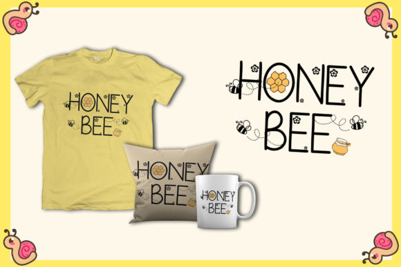 Print on Demand: Honey Beezy Script & Handwritten Font By Patricia (DMStd) - Image 4