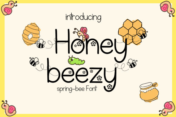 Print on Demand: Honey Beezy Script & Handwritten Font By Patricia (DMStd) - Image 1