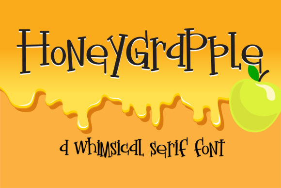 Print on Demand: Honeygrapple Script & Handwritten Font By Illustration Ink