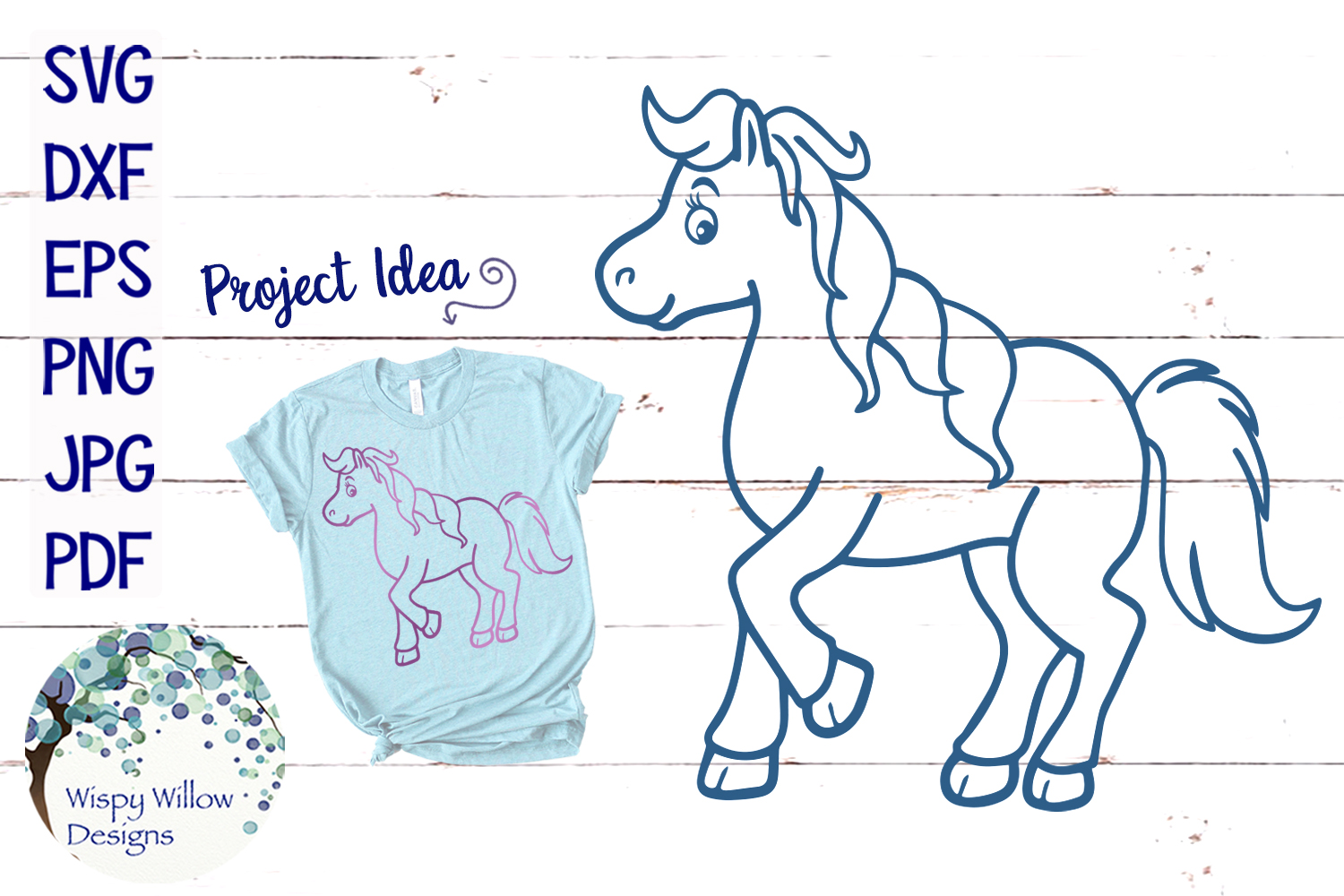 Horse Outline Svg Graphic By Wispywillowdesigns Creative Fabrica