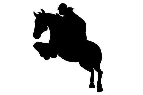 Download Free Horse Jumper Svg Cut File By Creative Fabrica Crafts Creative for Cricut Explore, Silhouette and other cutting machines.