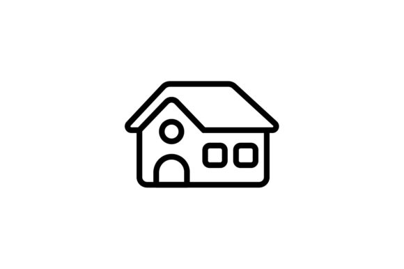 Download Free House Icon Grafico Por Kanggraphic Creative Fabrica for Cricut Explore, Silhouette and other cutting machines.