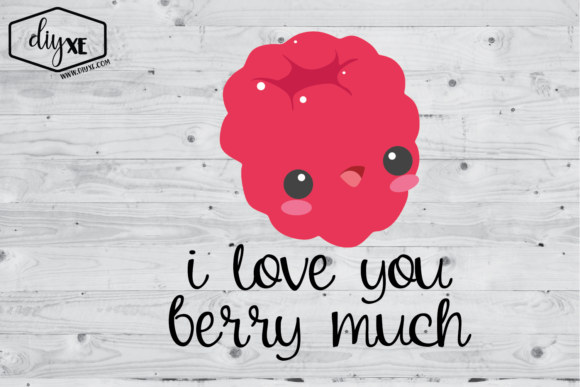 I Love You Berry Much Graphic Illustrations By Sheryl Holst