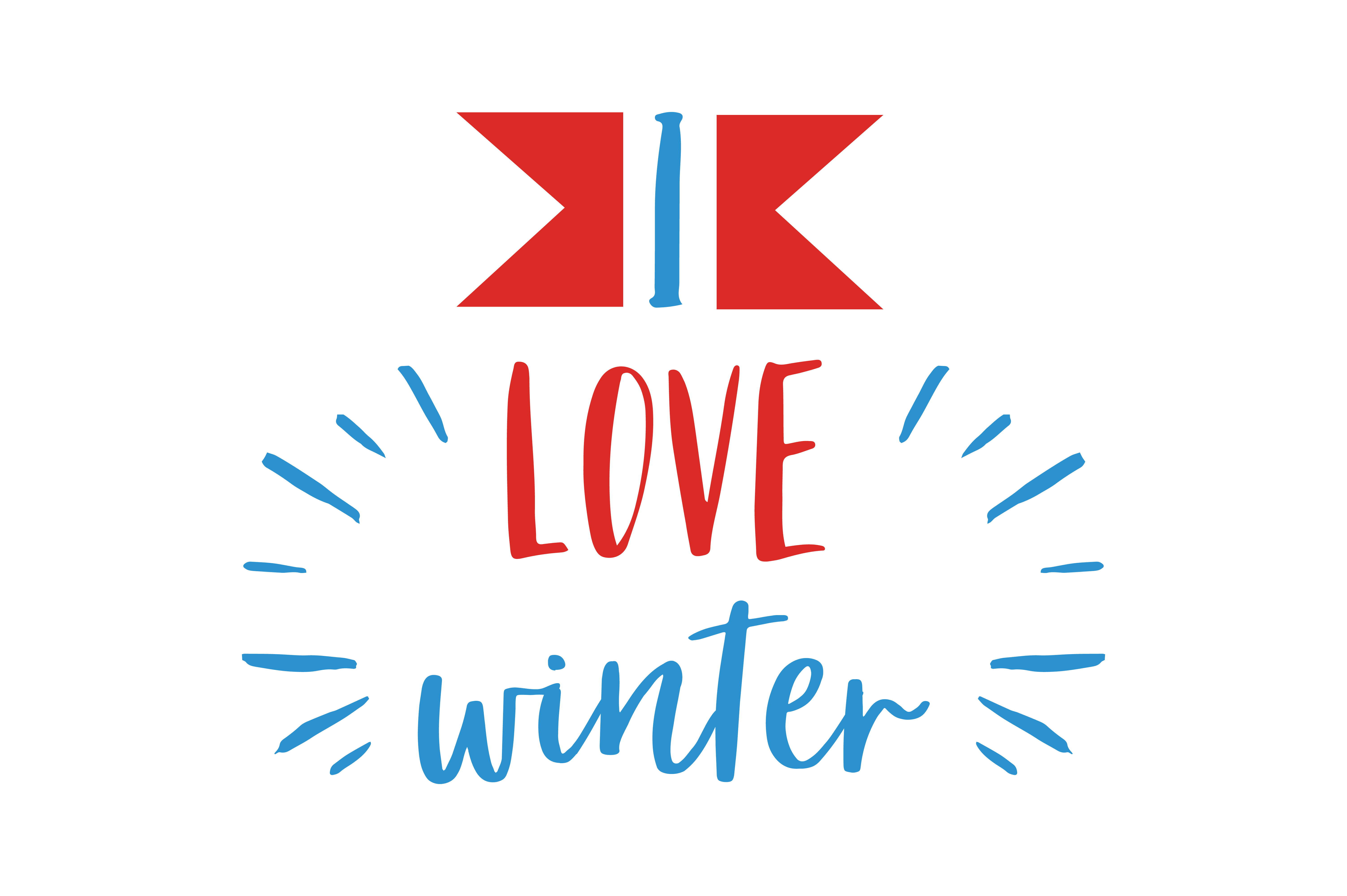Download Free I Love Winter Quote Svg Cut Graphic By Thelucky Creative Fabrica for Cricut Explore, Silhouette and other cutting machines.
