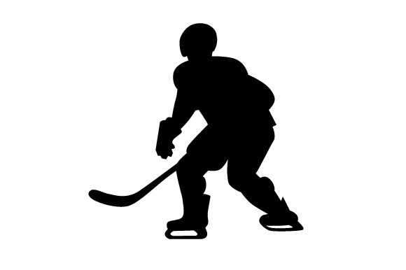 Download Free Ice Hockey Player Svg Cut File By Creative Fabrica Crafts for Cricut Explore, Silhouette and other cutting machines.