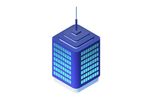 Print on Demand: Icon Vector Isometric Urban Graphic Icons By AlexZel