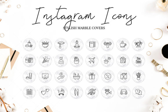 Instagram Highlight Covers Graphic By switzershop Image 2