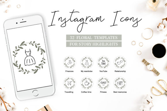 Instagram Highlight Covers Graphic By switzershop