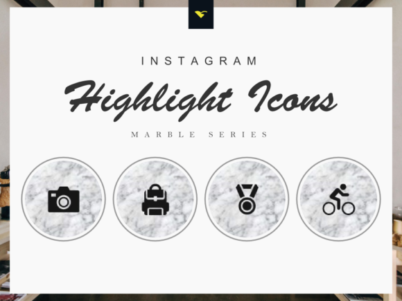 Download Free Instagram Story Highlights Icons Set Graphic By Rivatxfz for Cricut Explore, Silhouette and other cutting machines.