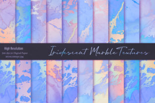 Beautiful Iridescent Marble Textures Graphic By artisssticcc