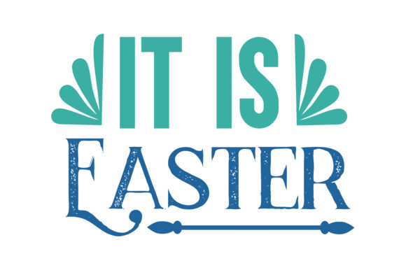 Download Free It Is Easter Quote Svg Cut Graphic By Thelucky Creative Fabrica for Cricut Explore, Silhouette and other cutting machines.