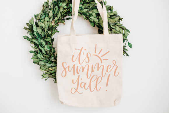 It's Summer Y'all, Handlettered Graphic Crafts By jordynalisondesigns - Image 2