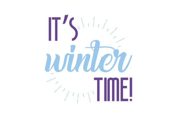 Download Free Its Winter Time Quote Svg Cut Graphic By Thelucky Creative for Cricut Explore, Silhouette and other cutting machines.