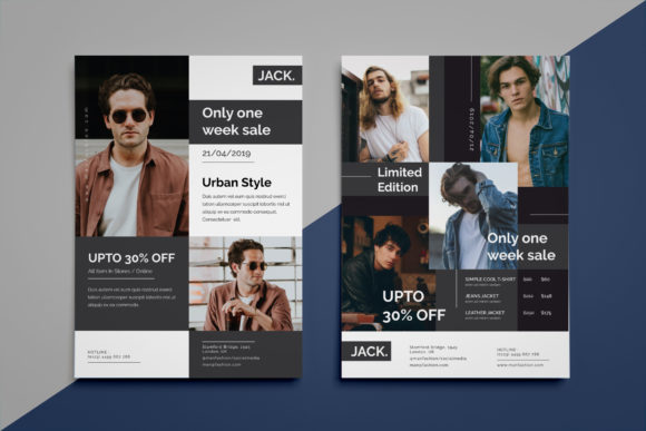 Download Free Fashion Flyer Grafik Von Irfanfirdaus19 Creative Fabrica for Cricut Explore, Silhouette and other cutting machines.