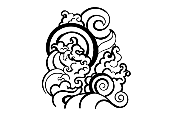 Download Free Japanese Style Tattoo Archivos De Corte Svg Por Creative Fabrica for Cricut Explore, Silhouette and other cutting machines.