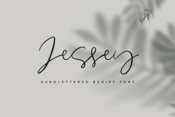 Print on Demand: Jessey Script & Handwritten Font By Dmitrii Chirkov