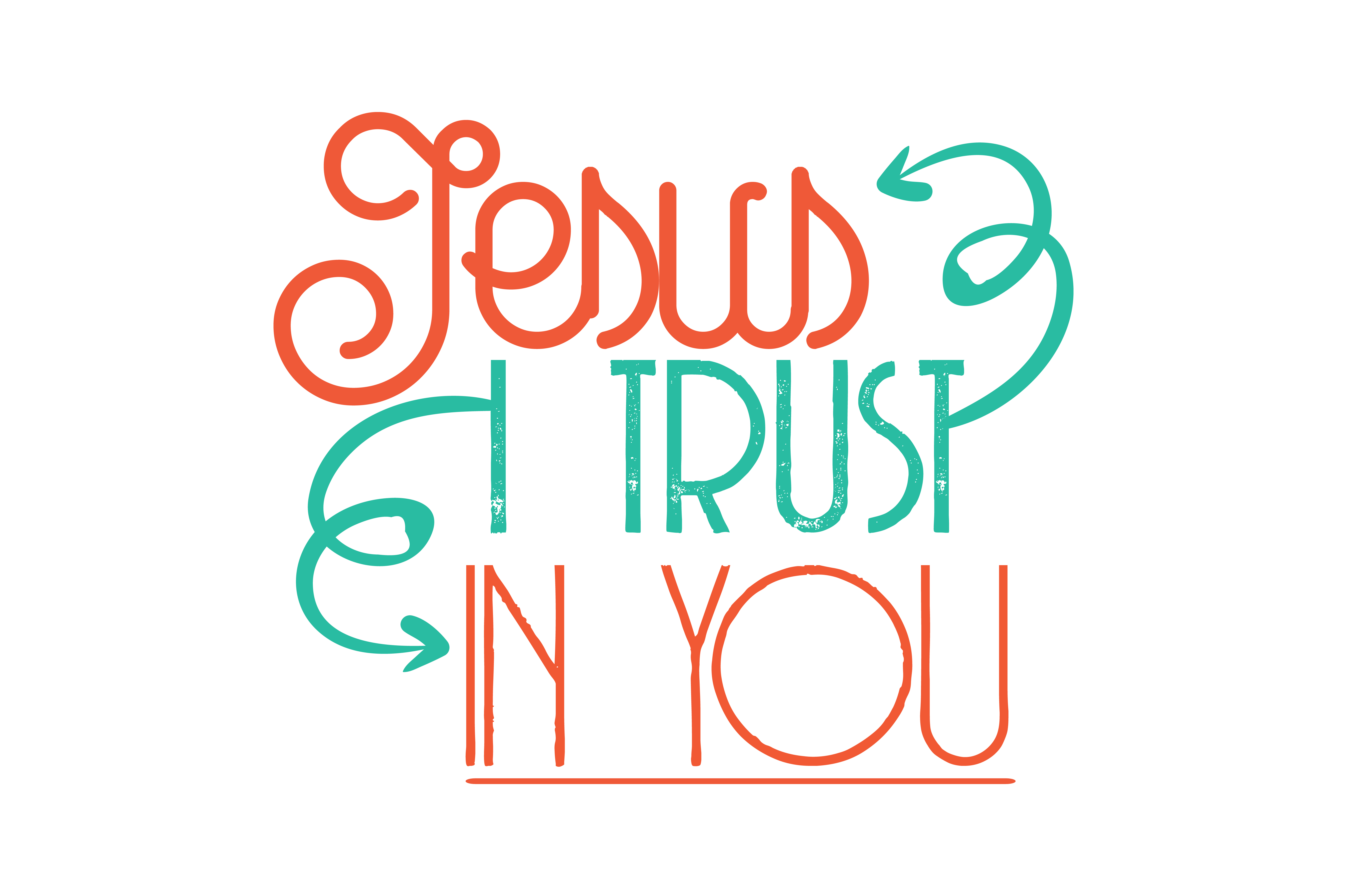 Download Free Jesus I Trust In You Quote Svg Cut Graphic By Thelucky for Cricut Explore, Silhouette and other cutting machines.