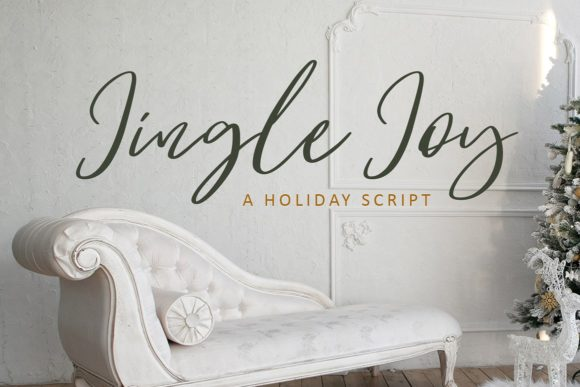 Jingle Joy Script & Handwritten Font By Creativeqube Design