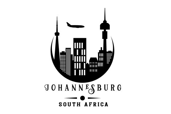 Johannesburg South Africa Craft Cut File By Creative Fabrica Crafts