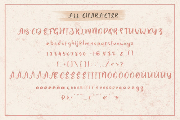 Print on Demand: Juicy Steak Script & Handwritten Font By craftsupplyco - Image 8