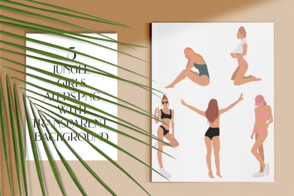 Jungle Girls Graphic Illustrations By BilberryCreate - Image 5