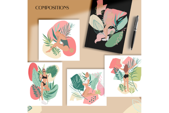 Jungle Girls Graphic Illustrations By BilberryCreate - Image 8