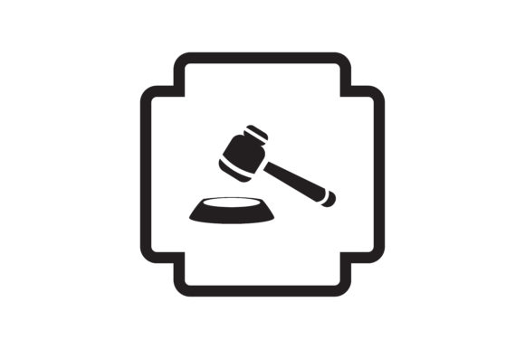 Download Free Justice Icon Grafico Por Zafreeloicon Creative Fabrica for Cricut Explore, Silhouette and other cutting machines.