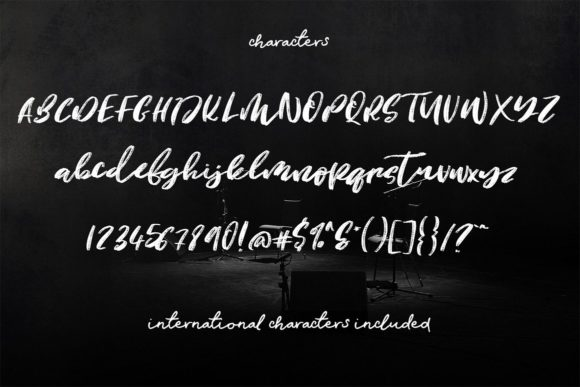 Justify Font By Creativeqube Design Image 2