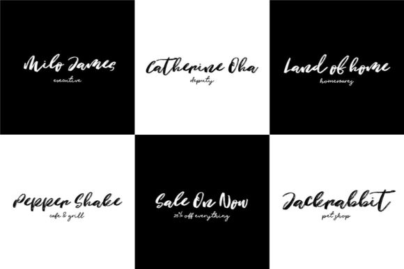 Justify Font By Creativeqube Design Image 3