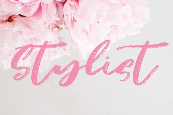 Justify Font By Creativeqube Design Image 5