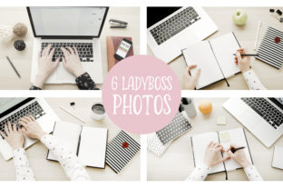 Lady Boss Mockups and Photos Graphic By switzershop
