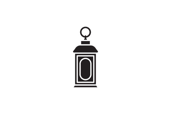 Download Free Lantern Icon Graphic By Kanggraphic Creative Fabrica for Cricut Explore, Silhouette and other cutting machines.